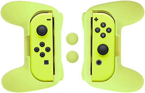AmazonBasics Grip Kit for Nintendo Switch Joy-Con Controller