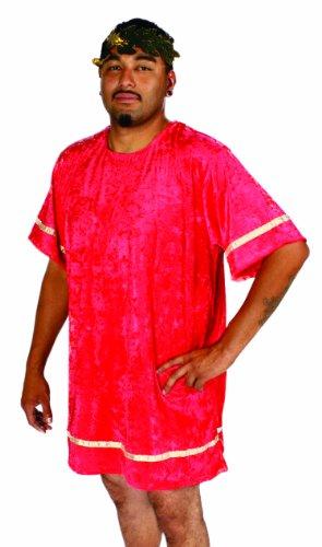 Alexanders Costumes Velvet Roman Tunic, Red, (Roman Citizen Costume)