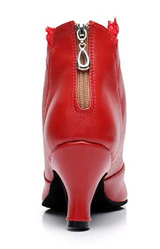 Red Joymod 6cm Donna MGM Ballerine leather gv0q1TO
