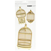 Kaisercraft - Flourish Packs - Bird Cages