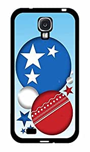 American Red White and Blue Abstract Circle Stars TPU RUBBER SILICONE Phone Case Back Cover Samsung Galaxy S4 I9500