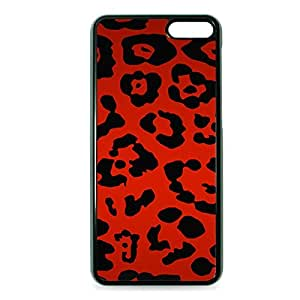 Case Fun Case Fun Red Leopard Print Snap-on Hard Back Case Cover for Amazon Fire Phone