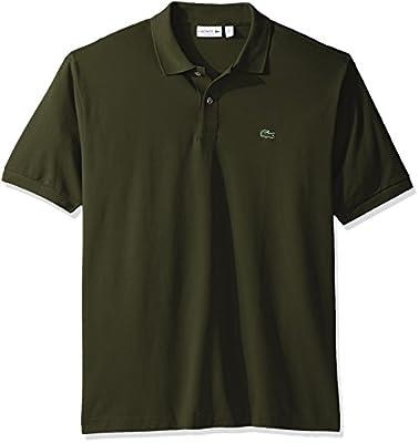 Lacoste Men's Short Sleeve Pique L.12.12 Classic Fit Polo Shirt, L1212, 0 by Lacoste