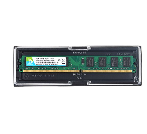 DUOMEIQI 8GB Kit(4X 2GB)2RX8 DDR2 800MHz DIMM PC2-6300 PC2-6400 CL6 1.8v 240 Pin Non-ECC Unbuffered Desktop Memory RAM Module Compatible with Intel AMD System by D DUOMEIQI (Image #6)