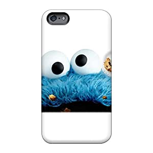 Protector Hard Phone Cases For Apple Iphone 6s Plus (qOi1571lzTJ) Customized Beautiful Cookie Monster Pattern