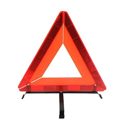Car Foldable Emergency Warning Triangle-Universal Reflective Warning Triangle Signs by (Highway Road Warning Sign)