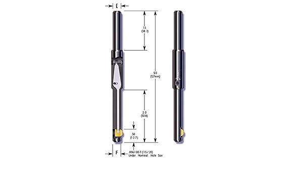 1//4 inch Pack of 1 HSS E-Z Burr Tool EZL0250-08