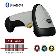 Afanda CT10 Portable Handheld Bluetooth Barcode Scanner With Memory,Compatible with Android Ios Windows,Enable soft keyboard