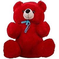 Shiddhi Toys 2 Feet Siting Red Teddy Bear