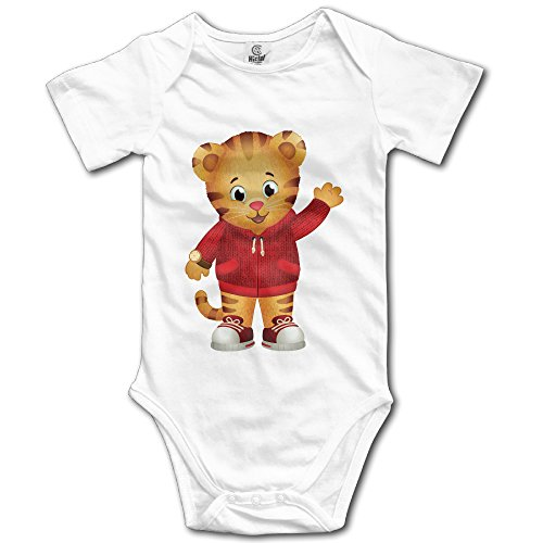 [Boxer98 Cartoon Cute Daniel Short Sleeve RomperBodysuit] (Flash Drive Costume)