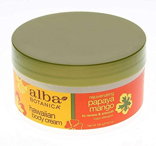 Alba Botanica Hawaiian Body Cream Nourishing Coconut Milk -- 6.5 oz - 2pc