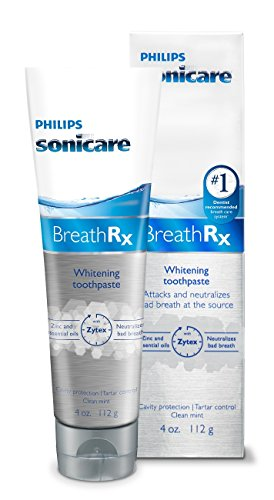 Philips Sonicare Breathrx Whitening Toothpaste 4oz