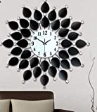 CC Silent Wall Clock/Clock/Iron-Studded Living Room Decorating Large Clocks