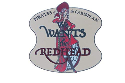 Disney Pirates of the Caribbean - We Wants the Redhead Pin