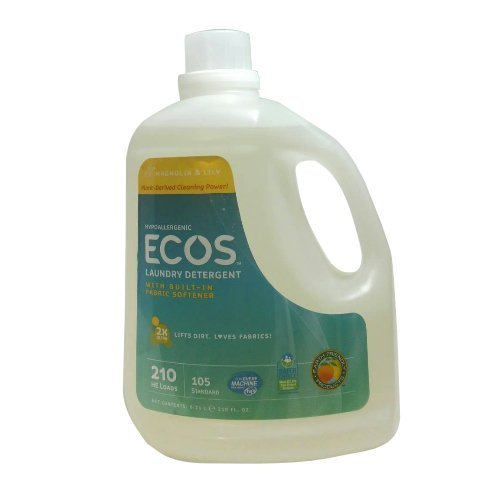 (Earth Friendly Products Ecos Liquid Laundry Detergent, Magnolia and Lilies, 210 Ounce)