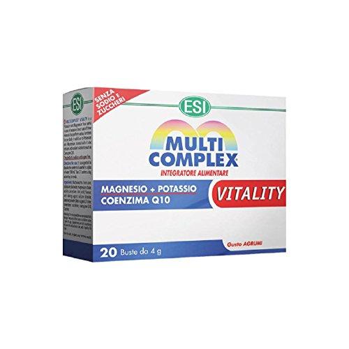 ESI Multicomplex Vitality Complemento Alimenticio - 20 Unidades: Amazon.es: Salud y cuidado personal