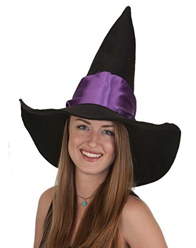 Witch Hat Black with Purple