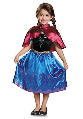 Anna Traveling Toddler Classic Costume, Small (2T) -