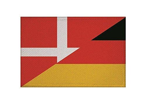 Deutschland Flagge UB Aufn/äher D/änemark Fahne Aufb/ügler Patch 9 cm x 6 cm Neuware!!!