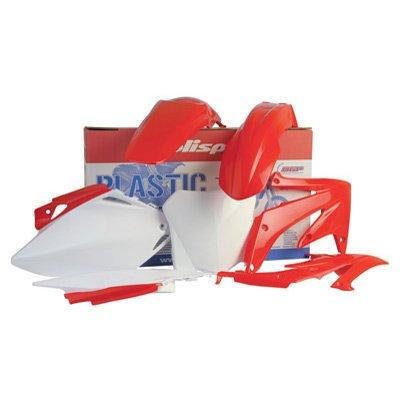 Polisport Plastics Kit Red for Honda CRF450R CRF 450R 04 - Atv Parafango Posteriore