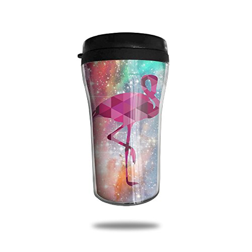 Famingo Pink Flamingo Vacuum Insulated Stainless Steel Travel Mug 8.5oz - Peony Coffee Grinder