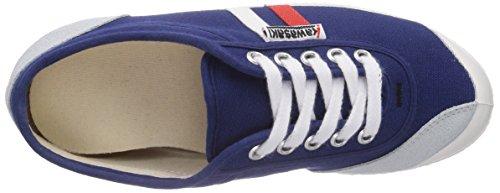 Kawasaki Regnbue Retro Unisex-voksne Sneakers Blå (Flåde, 90)