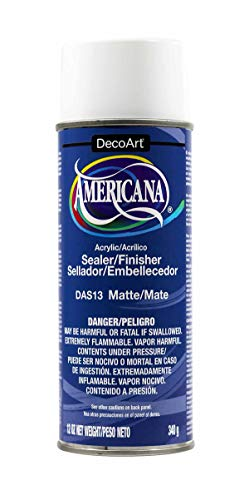 (DecoArt 12-Ounce Americana Acrylic Sealer/Finish Aerosol Spray, Matte)