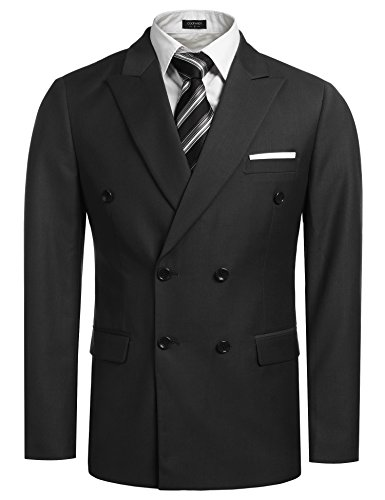 Coofandy Men's Casual Double-breasted Bl - Suits and Sportcoats Shopping Results