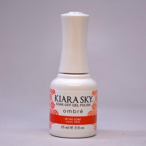 Kiara Sky Gel Polish Ombre   G830 In The Zone
