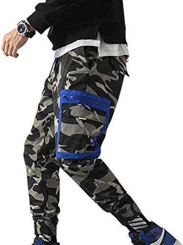 Street Hip-hop Street Dance Camouflage Tooling Pants Beam Feet Multi-Pocket Casual Youth Men`s Pants