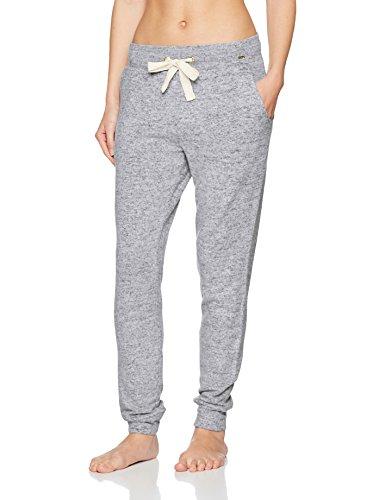 aluminium Para Collection Skiny Lang Loungewear Pantalones Hose Melange Grau 1088 Mujer nC1H4xw8
