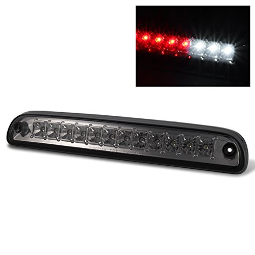 For 2009-2016 Ford F250/F350/F450/F550 SuperDuty Pickup Smoke Full LED 3rd Tail Brake Cargo Light Lamp