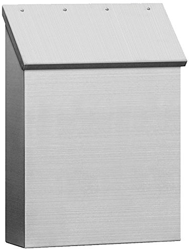 Salsbury Industries 4520 Stainless Steel Mailbox Standard Vertical Style