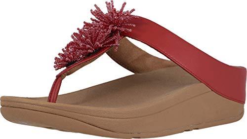 FitFlop Women's Flip-Flop, Adrenaline Red, 6 M US