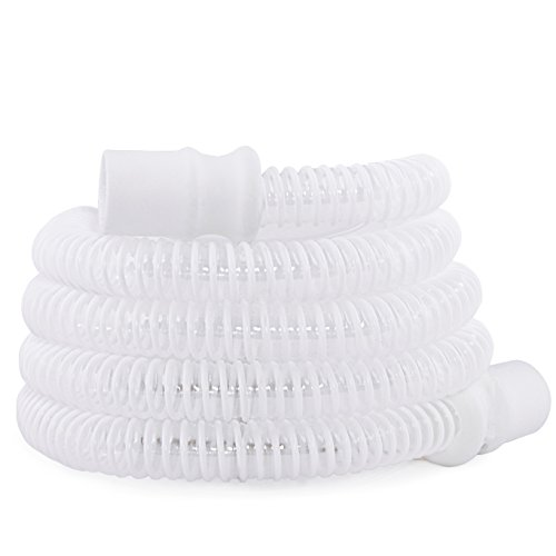 Slimline White High Performance 15mm CPAP Tubing with Ergonomic Cuff (3-Pack) by Vaunn (Image #4)