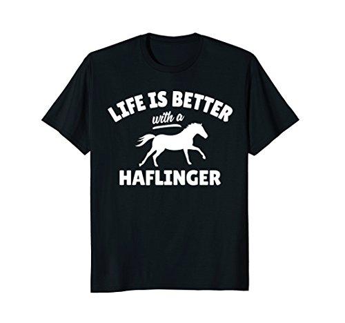 Haflinger Rider T-Shirt Equestrian Horse-Riding (Haflinger Horse Horses)