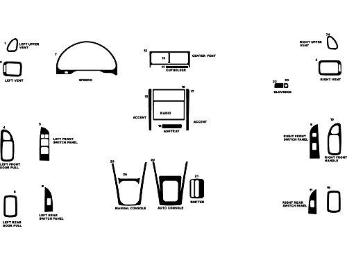 Rdash Dash Kit Decal Trim for Subaru Impreza 1997-2001 - Sticker Bomb (Harajuku)