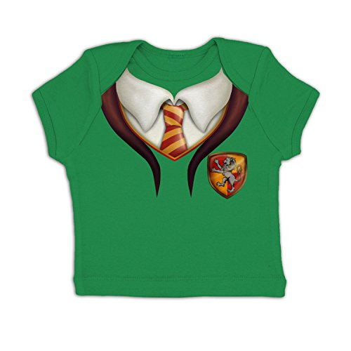Wizard Kelly Costume (Wizards Apprentice Costume Baby T-shirt - Kelly Green 18-24 Months)