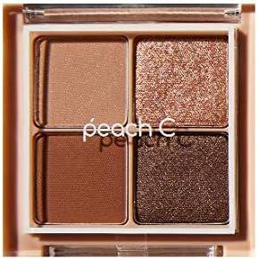 PEACH C フォーリング イン アイシャドウ パレット PEACH C Falling in Eyeshadow Palette 1.Brown [並行輸入品]