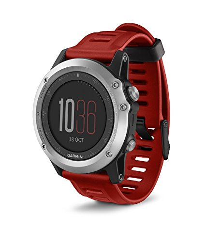 Garmin fēnix 3, Silver (Certified Refurbished) by Garmin
