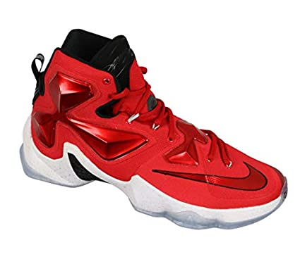 Amazon.com  Nike Men s Lebron XIII UNIVERSITY RED BLACK LASER ORANGE ... 58e139839
