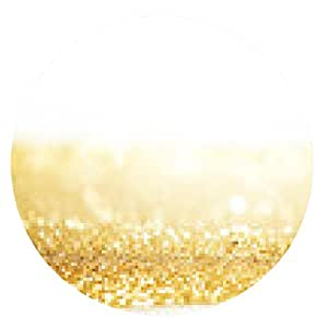 alfombrilla de ratón Resumen de fondo de oro - ronda - 20cm