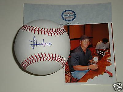 ukee Brewers Autographed Signed Baseball Proof Picture ()