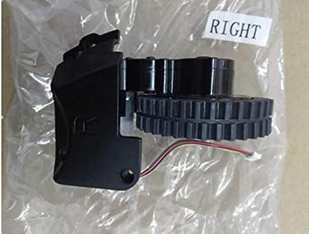 HBK Original Rueda Derecha con Motor para Robot Aspiradora Ilife A6 ilife X623 Robot Aspiradora Piezas Motor de Rueda: Amazon.es