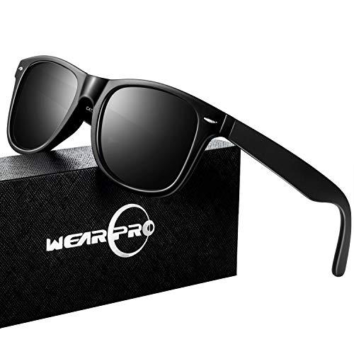 Sunglasses for Men Vintage Polarized Sun Glasses Fashion Shades WP1001 ()