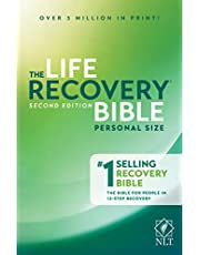 NLT Life Recovery Bible (Personal Size, Softcover) 2nd Edition: Addiction Bible Tied to 12 Steps of Recovery for Help with Drugs, Alcohol, Personal Struggles - With Meeting Guide