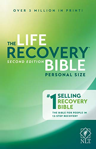 NLT Life Recovery Bible, Second Edition, Personal Size (Softcover)