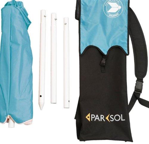 Ombrellone Portatile Da Spiaggia.Brunner 0113027n C9n Ombrellone Parsol Ride2sea Aluminio