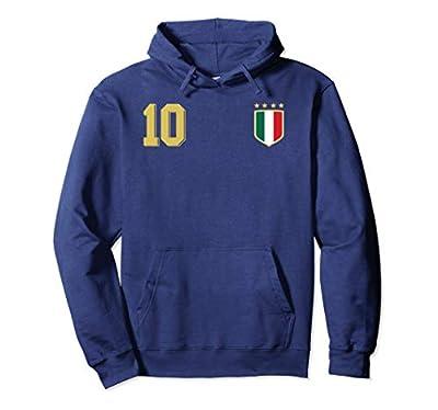 Retro Italy Soccer Jersey Italia Football Hoodie Calcio 10