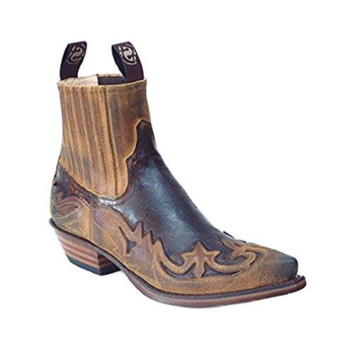 Sendra Boots 4660 camel / brown